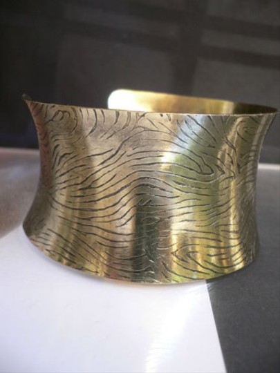 Other Women Moroccan Gold Fashion Bracelet Chic Adjustable Zebra Cuff