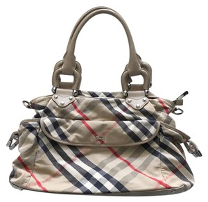 Burberry Cream, Beige Diaper Bag
