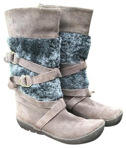 Kenneth Cole Reaction Brown & Gray Boots