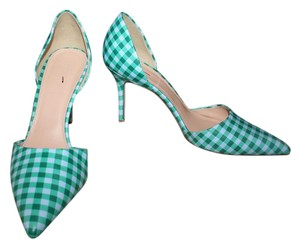 J.Crew Blue Emerald Pumps