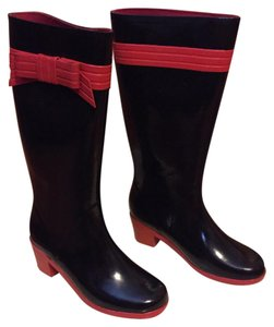 Kate Spade Black w/ Red Boots