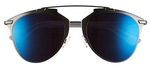 Dior Dior 'Reflected' sunglasses ruthenium blue mirror
