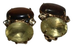iRADJ Moini NEW SIGNED IRADJ MOINI TIGER EYE CITRINE EARRINGS