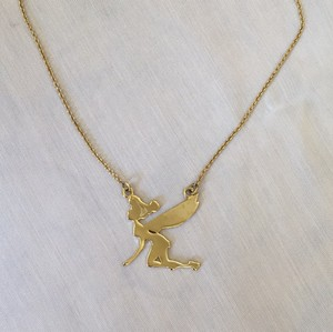Disney Disney Couture Flying Tinkerbell Necklace