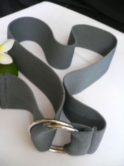 Other Women High Waist Hip Stretch Dark Gray Color Elastic Fashion Belt