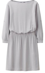 Uniqlo short dress Gray on Tradesy