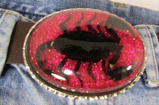 Other Men Women Big Metal Belt Buckle Real Scorpion Spider Western Fashion 43
