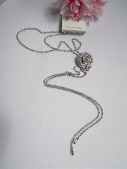 Other Women Silver Long Fashion Necklace Lions Head Pendant Metal Chains