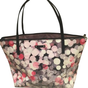 Kate Spade Tote in Black/white/pink