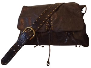 Kooba Black Messenger Bag