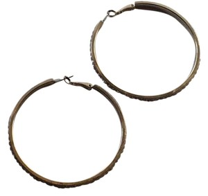 Silver Plated Hoop Earrings
