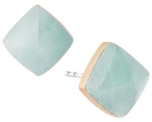Michael Kors MKJ5242 Pyramid Green Stone Stud Earrings