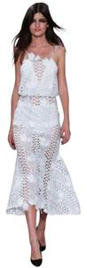 alice McCALL Lace Floral Midi Bohemian Dress