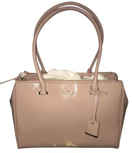 Kate Spade Patent Leather Tote in Rose water