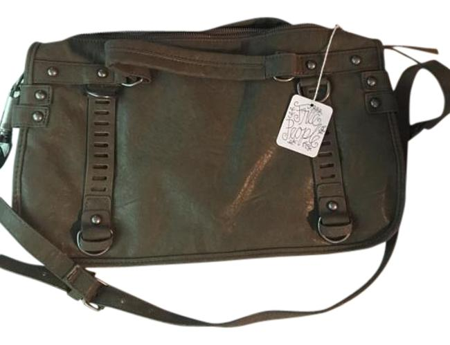 Item - Free People Olive Faux Leather Satchel