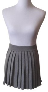 Stefanel Mini Skirt Grey