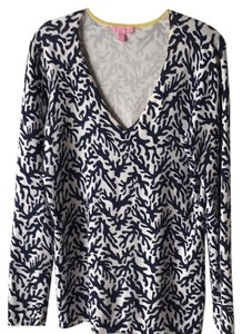 Lilly Pulitzer Cruisewear V-neck Tunic Sweater