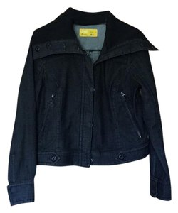 Lolë Dark wash denim Womens Jean Jacket