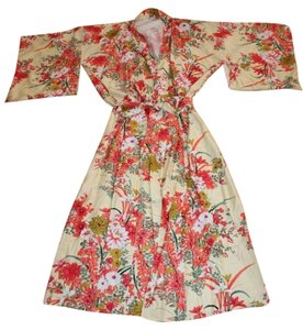 Print Knimono Japanese Dress
