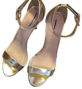 J.Crew Gold Pumps