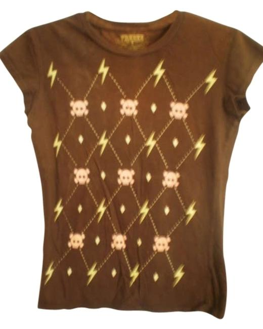 Preload https://item3.tradesy.com/images/freeze-brown-cute-tee-shirt-size-10-m-192527-0-0.jpg?width=400&height=650