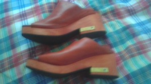 Other rusty orange Mules