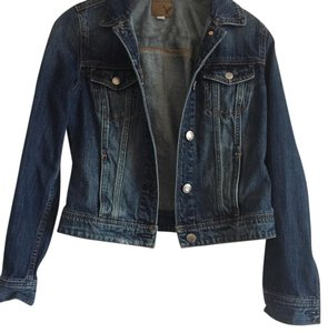 American Eagle Outfitters Dark-wash denim Womens Jean Jacket