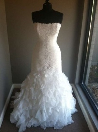 Pronovias Off-white Davina Wedding Dress Size 14 (L)