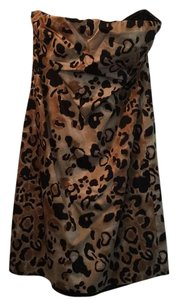 The Limited short dress Black leopard on Tradesy