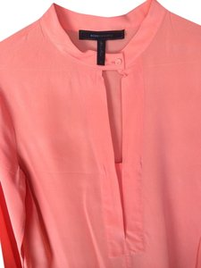 BCBGMAXAZRIA Top Orange/Peach