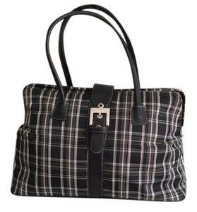 Adrienne Vittadini Black and white Travel Bag