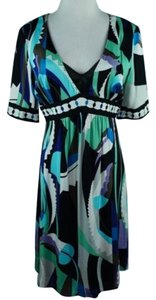 Elie Tahari Sally Silk Dress