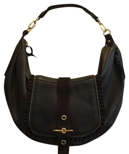 Preload https://img-static.tradesy.com/item/19253599/roberto-cavalli-brown-leather-with-suede-accent-hobo-bag-0-1-540-540.jpg