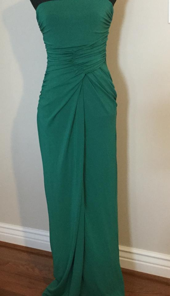 Mango Emerald Green Suit Collection Long Formal Dress Size 8 (M ...