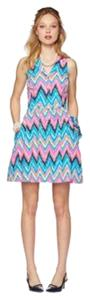 Lilly Pulitzer Sherlynn Halter V-neck Button Buttons Dress