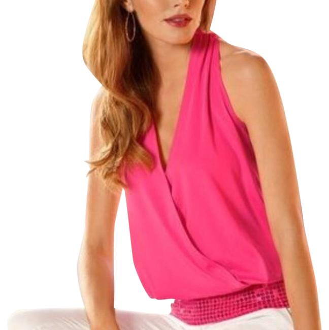 Preload https://img-static.tradesy.com/item/19253677/boston-proper-pink-sleeveless-sequins-blouse-night-out-top-size-2-xs-0-1-650-650.jpg
