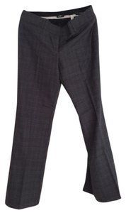 Ann Taylor LOFT Trouser Pants Black and grey plaid
