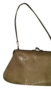 Kenneth Cole Reaction Wristlet in Tan/Gold