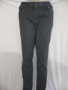 Ed Hardy A Women Stretch Low Rise Classic Skinny Dark Gray Denim 3632 Skinny Jeans