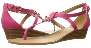 Coach pink ruby Sandals