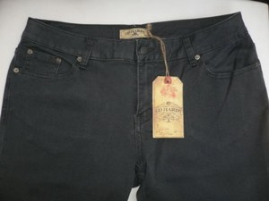 Ed Hardy A Women Stretch Low Rise Classic Skinny Dark Gray Denim 3432 Skinny Jeans
