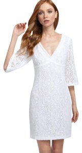 Trina Turk V-neck Eyelet Lace Dress