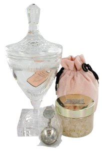 Juicy Couture Juicy Couture 10.5 oz Huge Crystal Goblet with Pacific Sea Salt Soak in Luxury Juicy Gift Box.