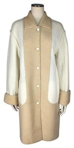 Fendi Fur Deconstructed Seams Colorblock Vintage Fur Coat