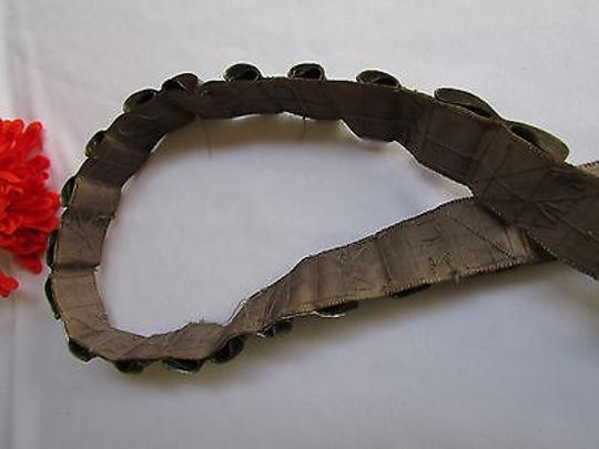 Other Art Hand Made Women Pewter Gray Beads Thin Fashion Belt 35-39
