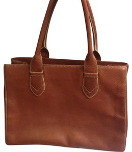 Cole Haan Satchel in Cognac
