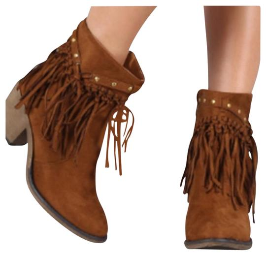 Preload https://img-static.tradesy.com/item/19255747/tan-bootsbooties-size-us-7-regular-m-b-0-1-540-540.jpg
