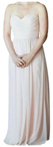 Bill Levkoff Chiffon Sweetheart Strapless Dress