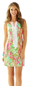 Lilly Pulitzer short dress Flamingo Pink Southern Charm Lily Preppy on Tradesy