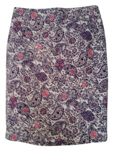 Ann Taylor Skirt Patterned